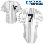 Mickey Mantle No Name Jersey – Number Only Replica by Majestic