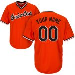Baltimore Orioles Cooperstown Personalized Home Jersey