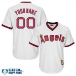 California Angels Cooperstown Personalized Home Jersey