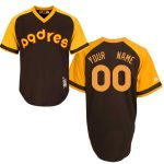 San Diego Padres Cooperstown Personalized Home Jersey
