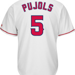 Albert Pujols LA Angels Replica Adult Home Jersey