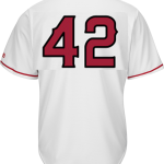 Jackie Robinson Day 42 Youth Jersey – LA Angels Replica Kids Home Jersey