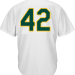 Jackie Robinson Day 42 Jersey – Oakland Athletics Replica Adult Home Jersey