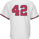Jackie Robinson Day 42 Jersey – Atlanta Braves Replica Adult Home Jersey