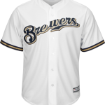 Milwaukee Brewers Replica Adult Home Jersey