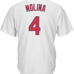 Yadier Molina St.Louis Cardinals Replica Youth Home Jersey