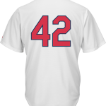 Jackie Robinson Day 42 Youth Jersey – St Louis Cardinals Replica Kids Home Jersey