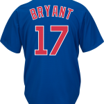 Kris Bryant Jersey – Chicago Cubs Replica Adult Royal Blue Jersey