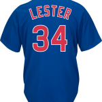 Jon Lester Jersey – Chicago Cubs Replica Adult Royal Blue Jersey