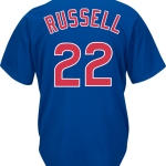 Addison Russel Jersey – Chicago Cubs Replica Adult Royal Blue Jersey