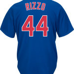 Anthony Rizzo Jersey – Chicago Cubs Replica Adult Royal Blue Jersey