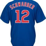 Kyle Schwarber Jersey – Chicago Cubs Replica Adult Royal Blue Jersey