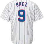 Javier Baez Jersey – Chicago Cubs Replica Adult Home Jersey