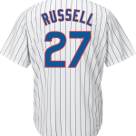 Addison Russel Jersey – Chicago Cubs Replica Adult Home Jersey