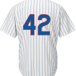 Jackie Robinson Day 42 Jersey – Chicago Cubs Replica Adult Home Jersey