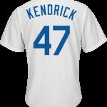Howie Kendrick Youth Jersey – LA Dodgers Replica Kids Home Jersey