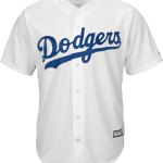 La Dodgers Replica Adult Home Jersey