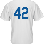 Jackie Robinson Day 42 Jersey – LA Dodgers Replica Adult Home Jersey