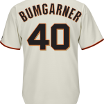 Madison Bumgarner SF Giants Replica Youth Home Jersey