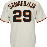 Jeff Samardzija Youth Jersey – San Francisco Giants Replica Kids Home Jersey