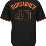 Madison Bumgarner Jersey – San Francisco Giants Replica Adult Black Alt Jersey