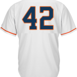 Jackie Robinson Day 42 Jersey – Houston Astros Replica Adult Home Jersey