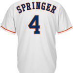 George Springer Jersey – Houston Astros Replica Adult Home Jersey