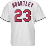 Michael Brantley Jersey – Cleveland Indians Replica Adult Home Jersey