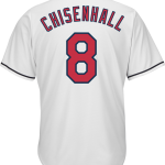 Lonnie Chisenhall Cleveland Indians Replica Youth Home Jersey