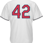 Jackie Robinson Day 42 Youth Jersey – Cleveland Indians Replica Kids Home Jersey