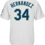 Felix Hernandez Seattle Mariners Replica Adult Home Jersey