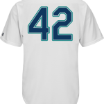 Jackie Robinson Day 42 Youth Jersey – Seattle Mariners Replica Kids Home Jersey