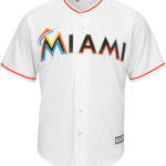 Miami Marlins Replica Adult Home Jersey