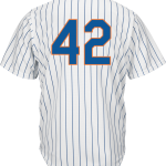 Jackie Robinson Day 42 Jersey – NY Mets Replica Adult Home Jersey