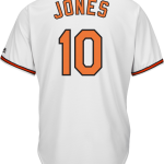 Adam Jones Baltimore Orioles Replica Youth Home Jersey
