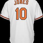 Adam Jones Baltimore Orioles Replica Adult Home Jersey