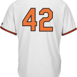 Jackie Robinson Day 42 Jersey – Baltimore Orioles Replica Adult Home Jersey