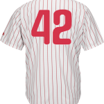 Jackie Robinson Day 42 Jersey – Philadelphia Phillies Replica Adult Home Jersey