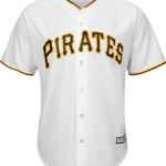Pittsburgh Pirates Replica Adult Home Jersey