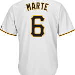 Starling Marte Jersey – Pittsburgh Pirates Replica Adult Home Jersey
