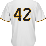 Jackie Robinson Day 42 Jersey – Pittsburgh Pirates Replica Adult Home Jersey