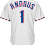 Elvis Andrus Texas Rangers Replica Adult Home Jersey