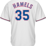 Cole Hamels Jersey – Texas Rangers Replica Adult Home Jersey