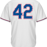 Jackie Robinson Day 42 Jersey – Texas Rangers Replica Adult Home Jersey