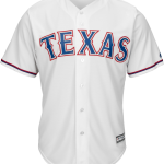 Texas Rangers Replica Adult Home Jersey