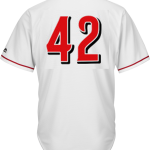 Jackie Robinson Day 42 Jersey – Cincinnati Reds Replica Adult Home Jersey