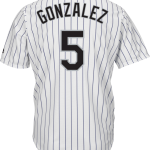 Carlos Gonzalez Colorado Rockies Replica Adult Home Jersey