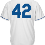 Jackie Robinson Day 42 Jersey – Kansas City Royals Replica Adult Home Jersey