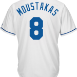 Mike Moustakas KC Royals Replica Adult Home Jersey