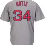 David Ortiz Jersey – Boston Red Sox Replica Adult Road Jersey